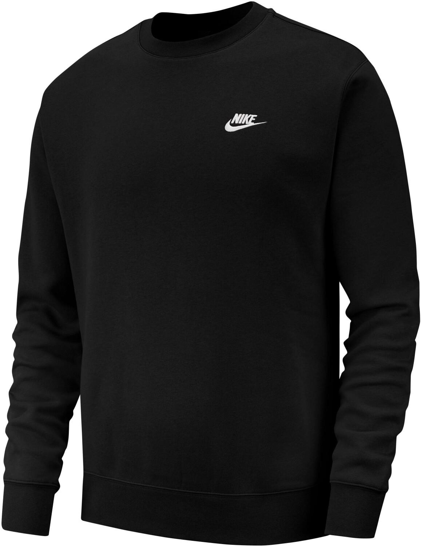 Nike Sportswear Club Fleece Sweatshirt in schwarz (Gr. S - XXL) für 31,17€ oder 2x für 52,39€ (ca. 26,20€ pro Stück)