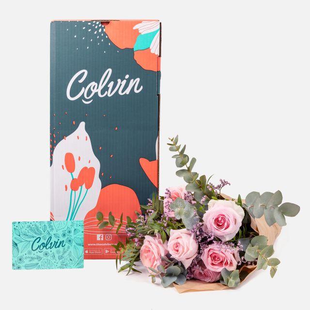 20% auf alle Blumensträusse von Colvin