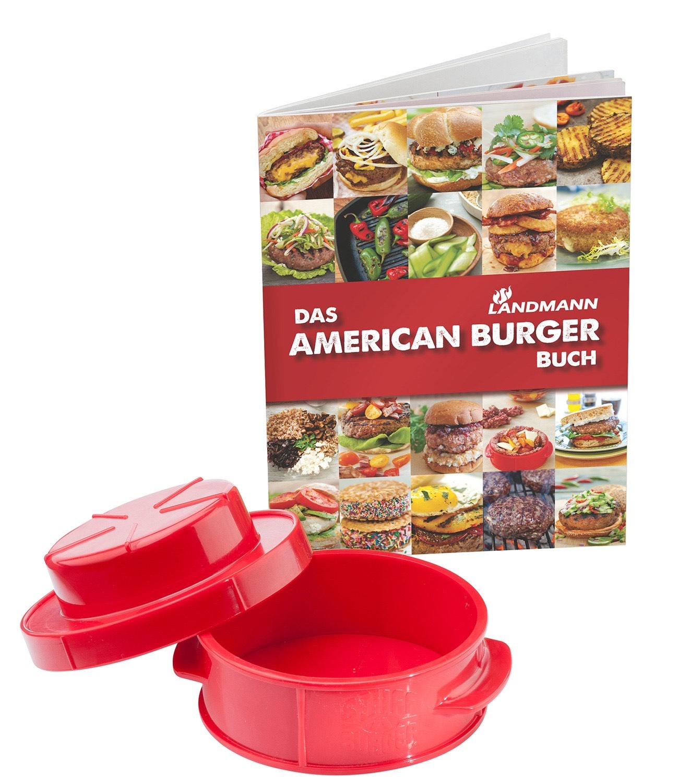 Landmann Burgerpresse inklusive Landmann Burger Buch