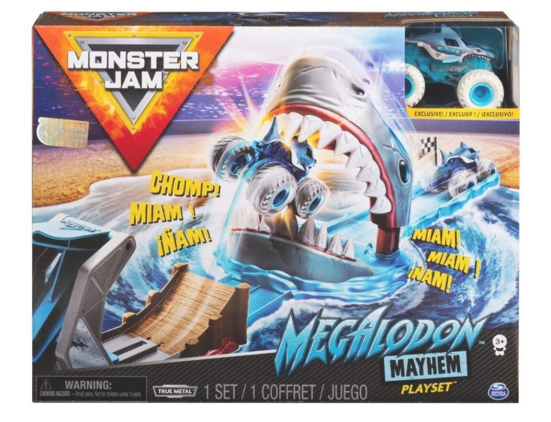 Monster Jam Stunt-Bahn Megalodon Mayhem