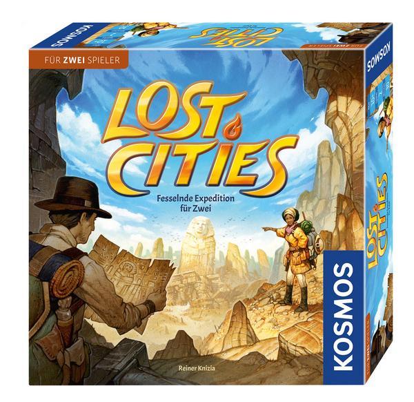 Lost Cities - Das Duell [Thalia KultClub] Brettspiel / Kartenspiel für 12,07€