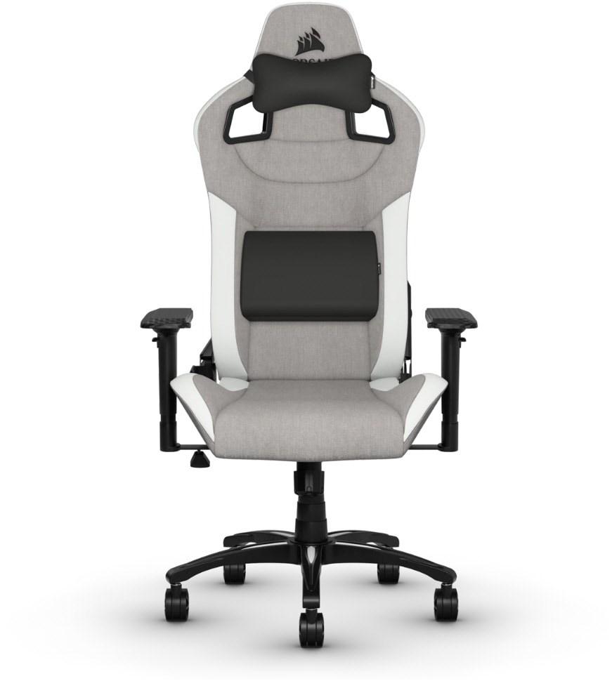 Corsair T3 Rush Gamingstuhl grau/weiß