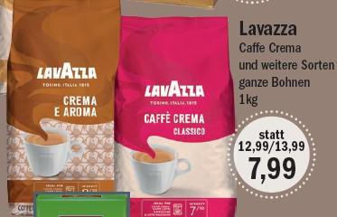 Oldenburg: Aktiv Irma : Lavazza Cafe Crema Classico und andere Sorten