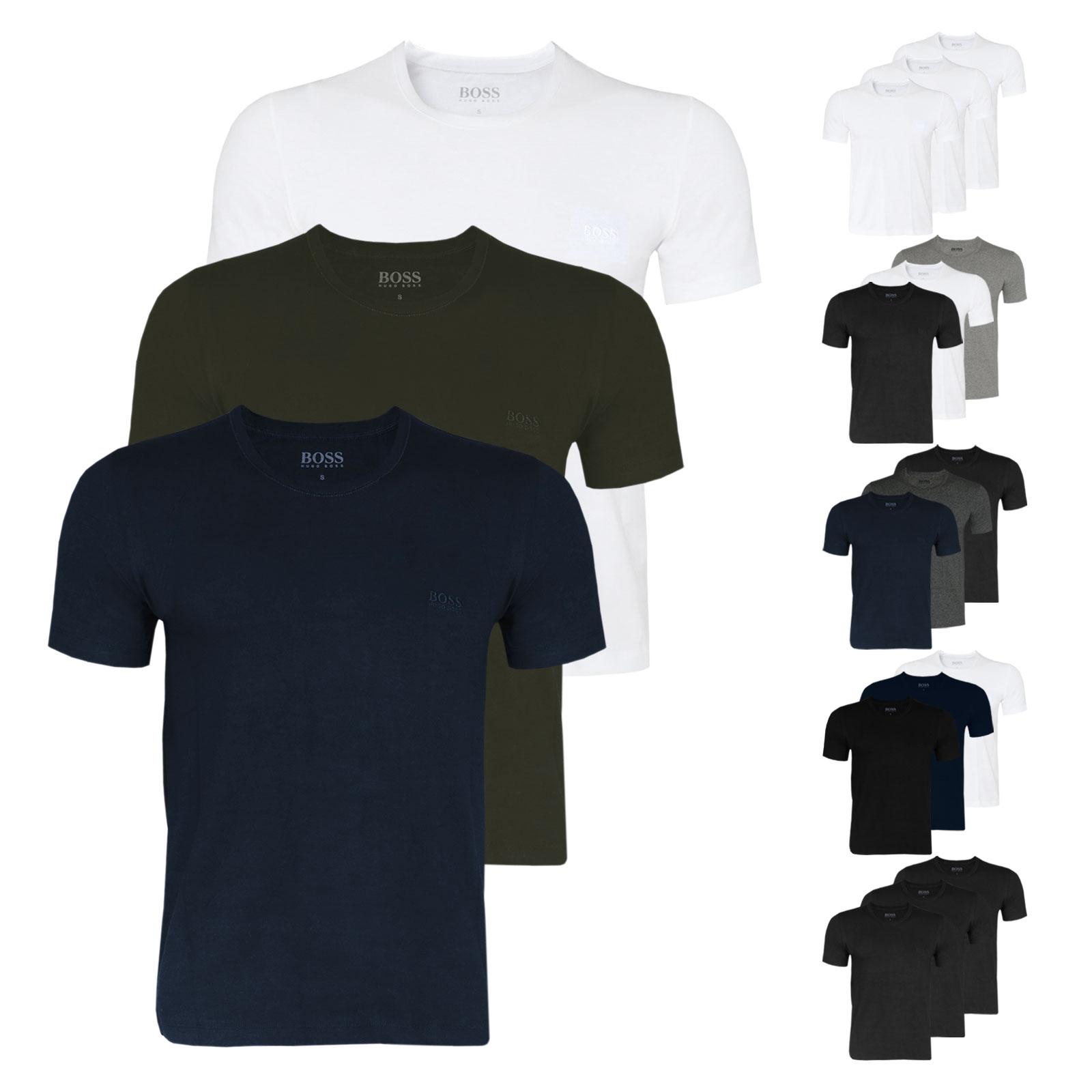 Hugo Boss Business T-Shirts (2x3er Pack = 6 Shirts für 48€ mit Gutschein / oder 3 für 30€)
