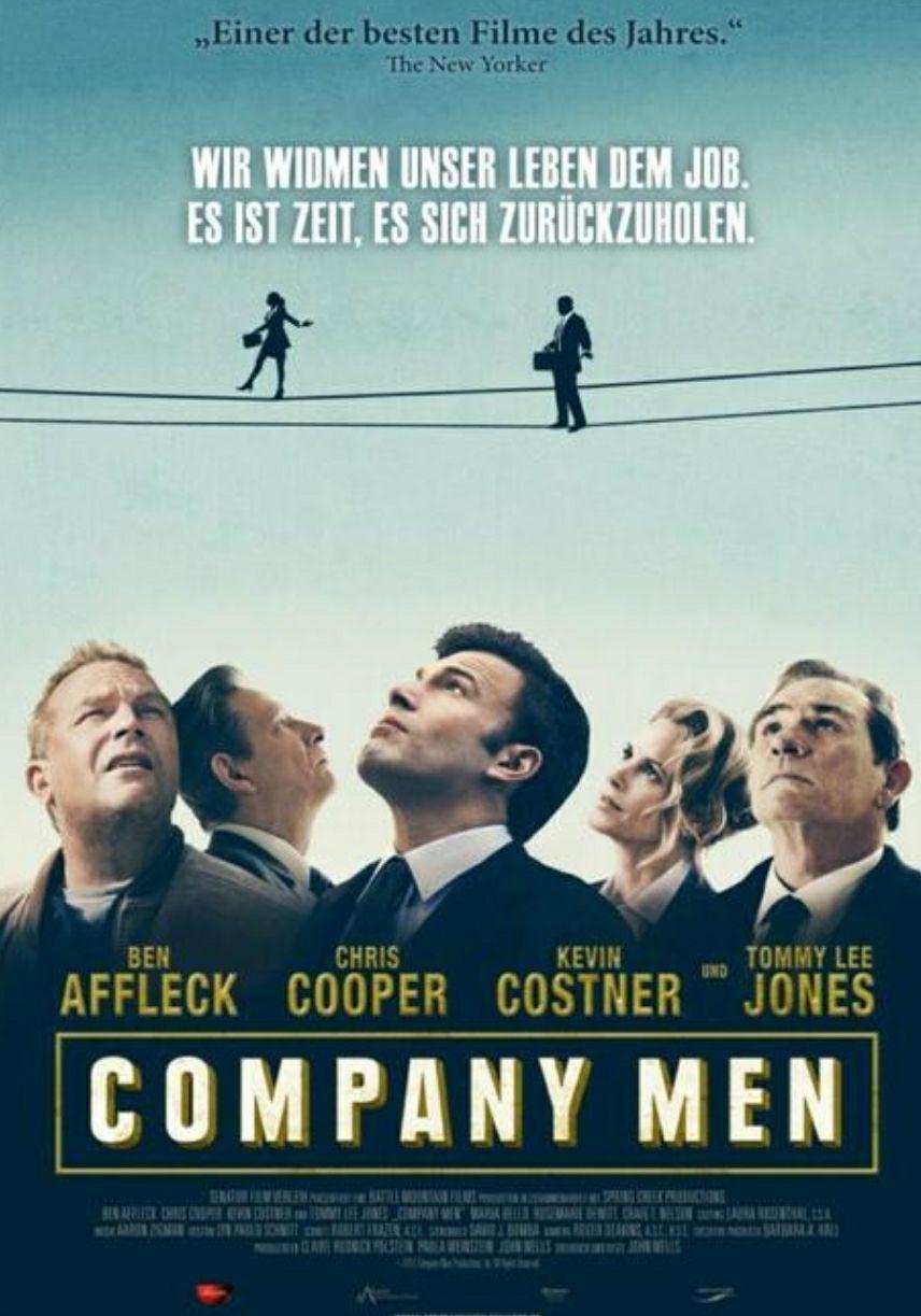 "[Servus TV Mediathek] ""Company Men"" mit Ben Affleck, Tommy Lee Jones und Kevin Costner kostenlos streamen [IMDb 6.7]"