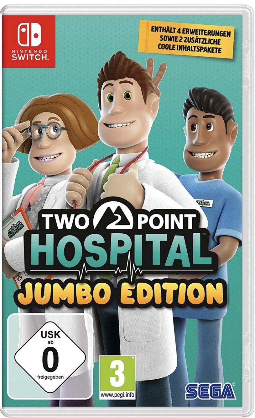 Two Point Hospital Jumbo Edition/ Standard - Nintendo Switch/ PS4 für je 26,99€/ 19,99€ [Amazon/MM/Saturn]