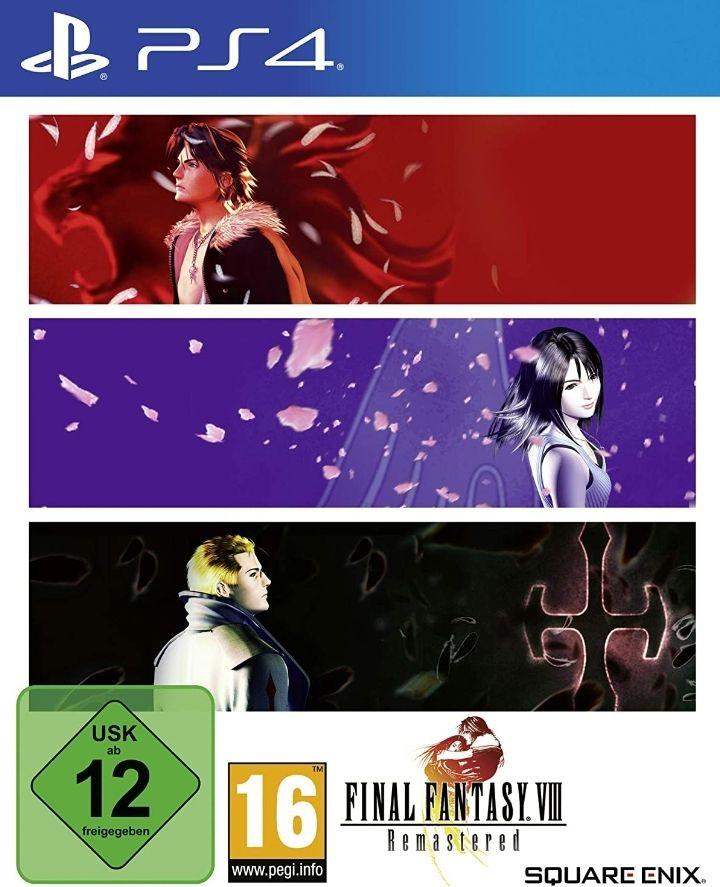 Final Fantasy VIII Remastered für die Playstation 4