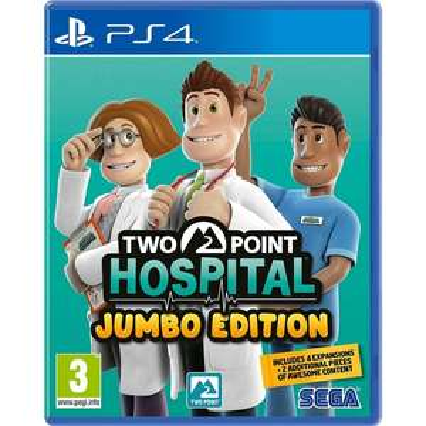 Two Point Hospital: Jumbo Edition (Playstation 4)