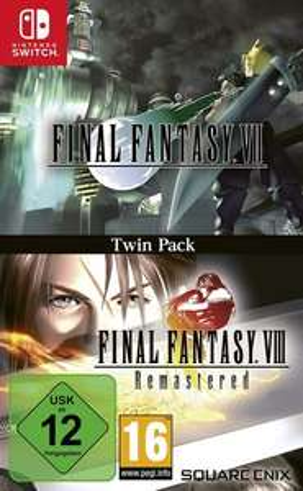 Final Fantasy VII & Final Fantasy VIII Remastered Twin Pack (Nintendo Switch) Amazon / MediaMarkt