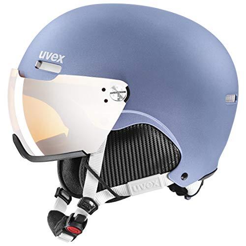 uvex Unisex – Erwachsene, hlmt 500 visor Skihelm