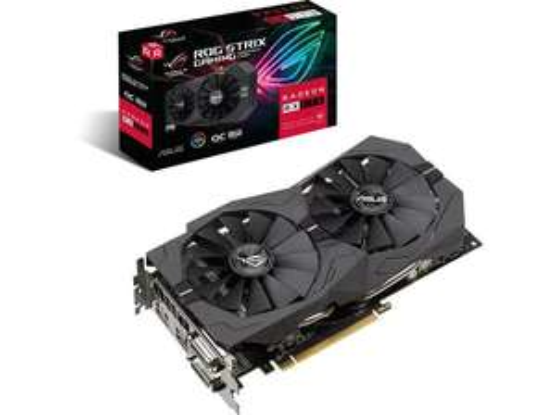 ASUS Radeon ROG-STRIX-RX570 8GB