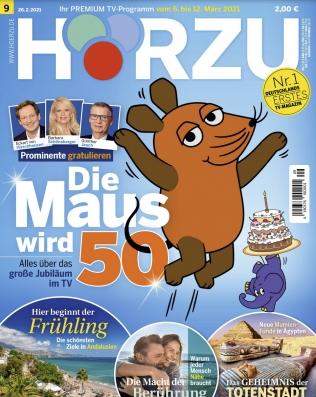26 Ausgaben HÖRZU TV-Zeitschrift für 65€ + 65€ Amazon Gutschein