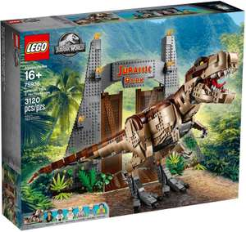 LEGO Jurassic World - Jurassic Park: T. Rex' Verwüstung (75936) bei MyToys