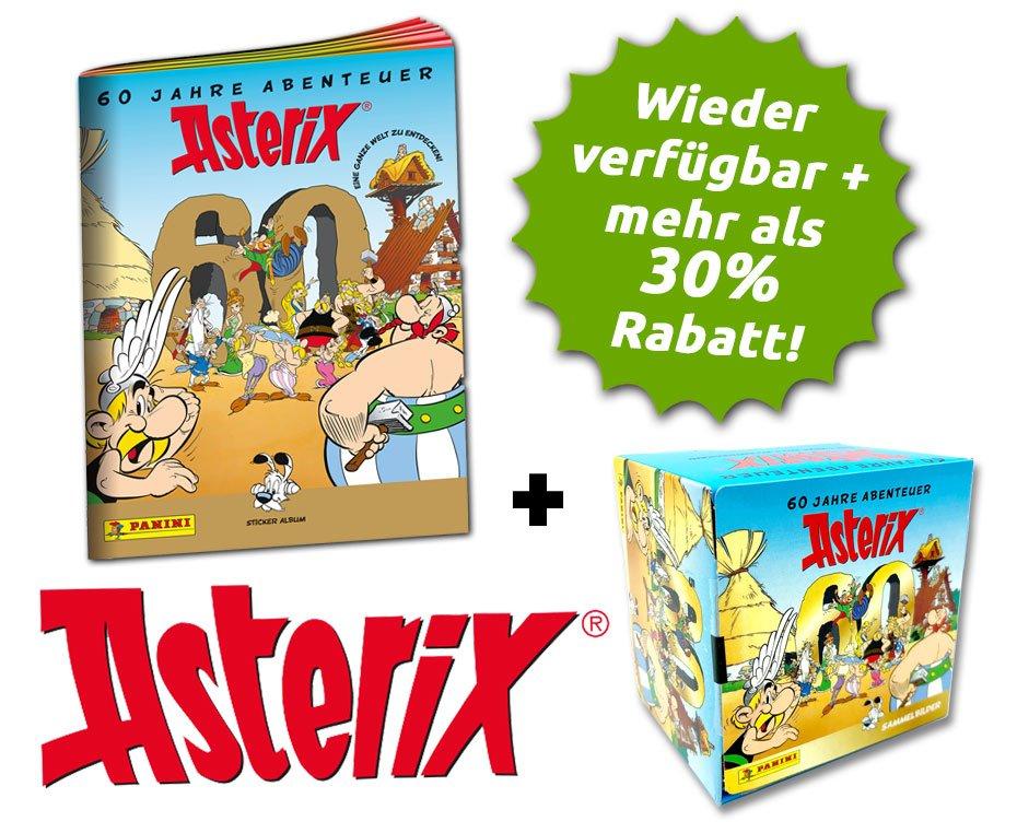 Asterix - 60 Jahre Abenteuer - Stickerkollektion - Asterix-Bundle