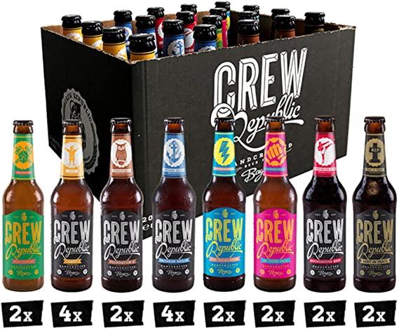 Crew Republic Bier, Mixkist oder 2 verschiedene Sorten bei Amazon Prime