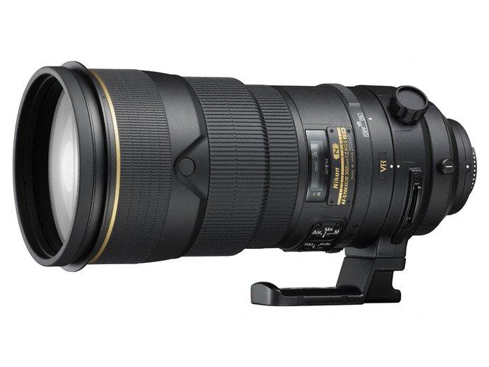 Nikon AF-S Nikkor 300mm f/2,8 ED VR II Nikon FX