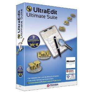 Ultra Edit Ultimate für 16,99€ statt 109,95€