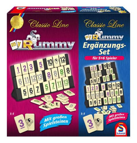 Schmidt Spiele Classic Line my Rummy + Ergänzungsset (Bei Abholung 19,99€)
