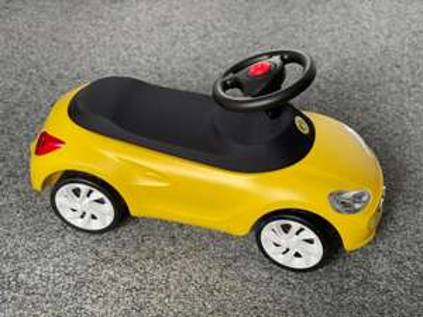 ADAM Opel Rutschauto Rutscher Schub Car Auto Lauflernhilfe Kind Fahrzeug BVB FAN