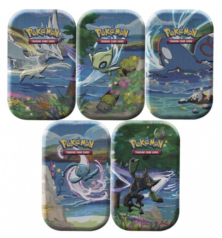 Pokémon Shining Fates Mini-Tins ENGLISCH (5er Pack)