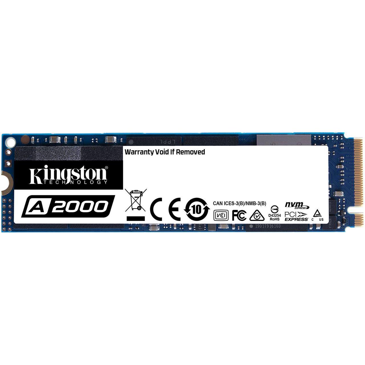 DAMN!-Deals Kingston SSD A2000 1TB Read:2200 MB/s Write:2000 MB/s