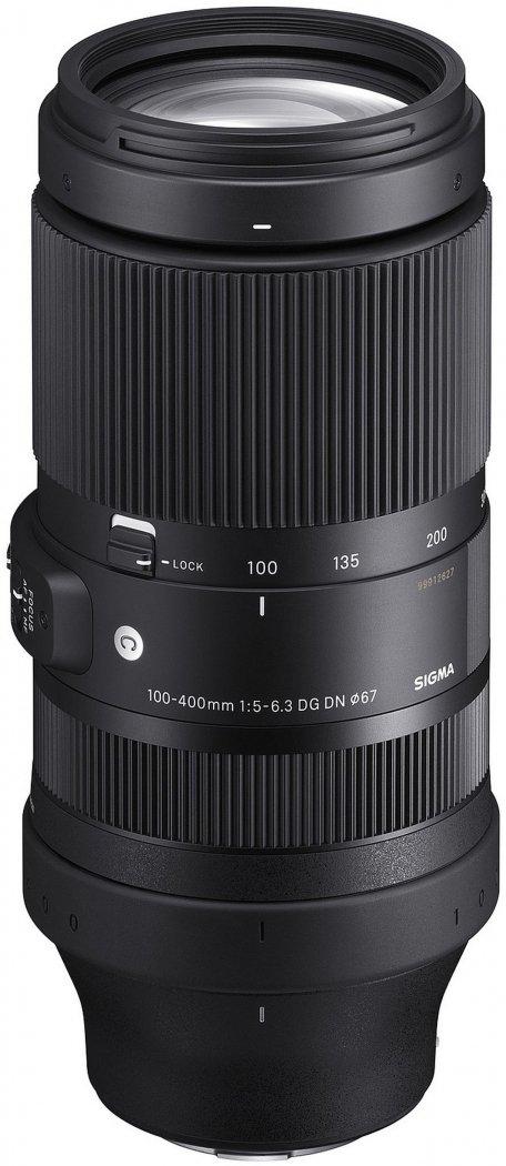 Sigma 100-400mm F5-6.3 DG DN OS Contemporary Objektiv für Sony E-Mount