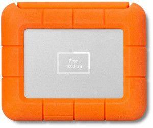 LaCie Rugged BOSS SSD1 TB externe SSD, USB-C/USB-A, orange [Gravis]