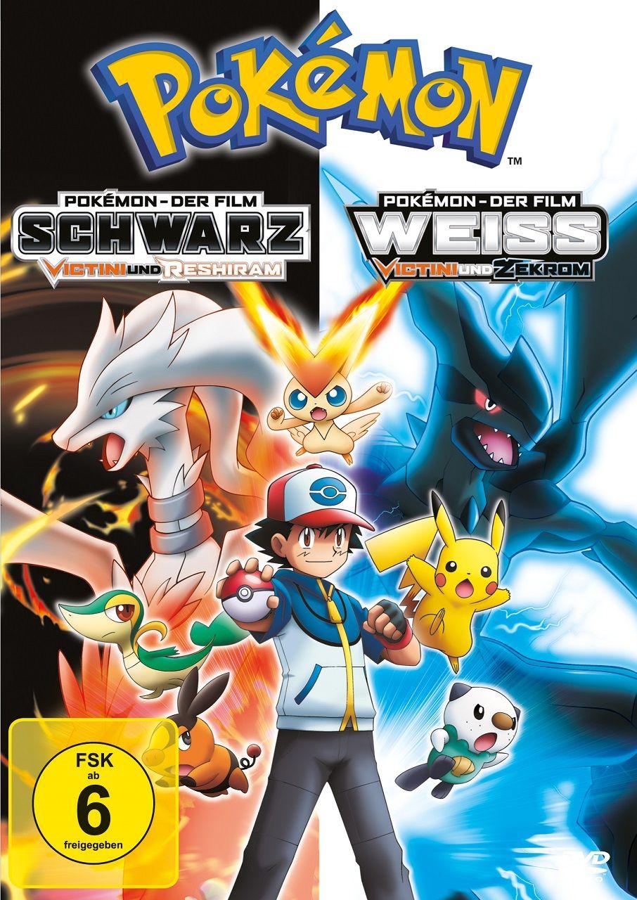 Pokémon: Schwarz/Weiß - Victini und Reshiram/Zekrom (2011, Film 14) kostenlos im Stream [PokémonTV]