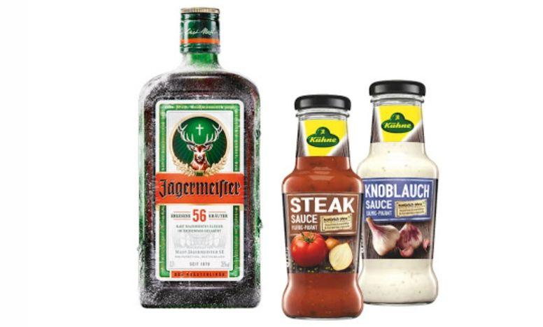 [Marktkauf Minden-Hannover] Jägermeister 0,7l + 2x Kühne Grillsauce mit Scoondo Cashback oder Genuss+ App für 9,97€ (Nur morgen)