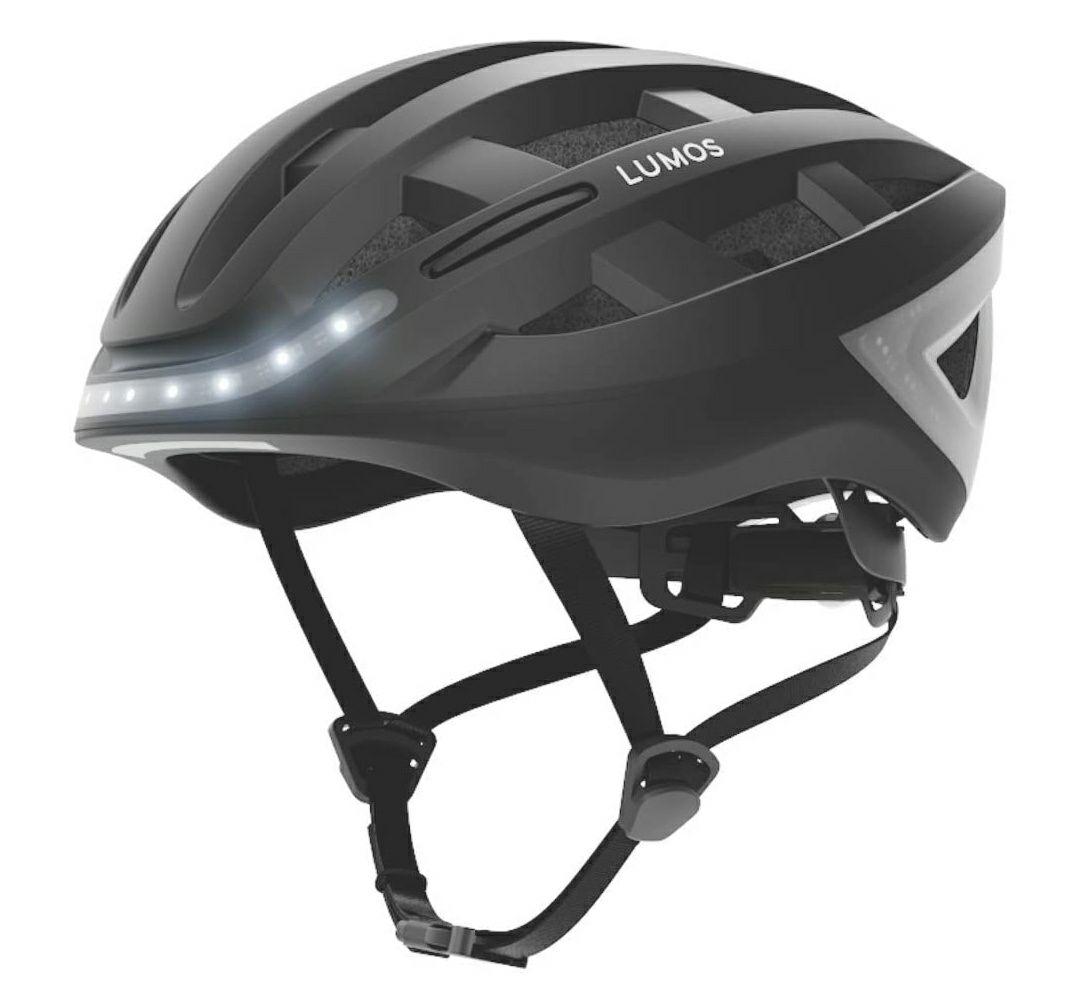 [Lokal MM Rosenheim] LUMOS 220008-001 Kickstart (Fahrradhelm, 54-61 cm, Charcoal Black)