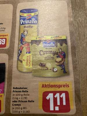 Prinzen Rolle Cremys [Rewe Center]