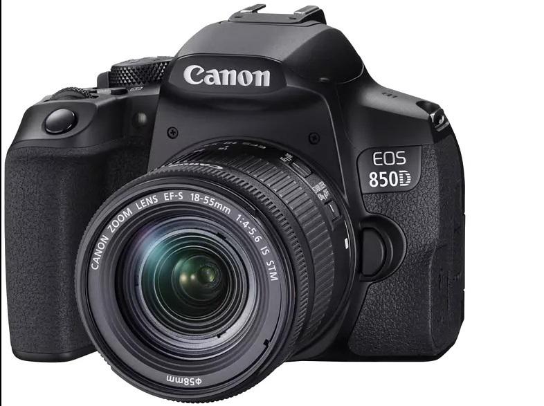 [Saturn / MediaMarkt] CANON EOS 850D Kit Spiegelreflexkamera 18-55mm EF-S, IS II, STM