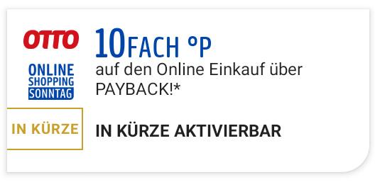 [Payback] 10fach Punkte bei Otto nur am Online Shopping Sonntag (18.04.)