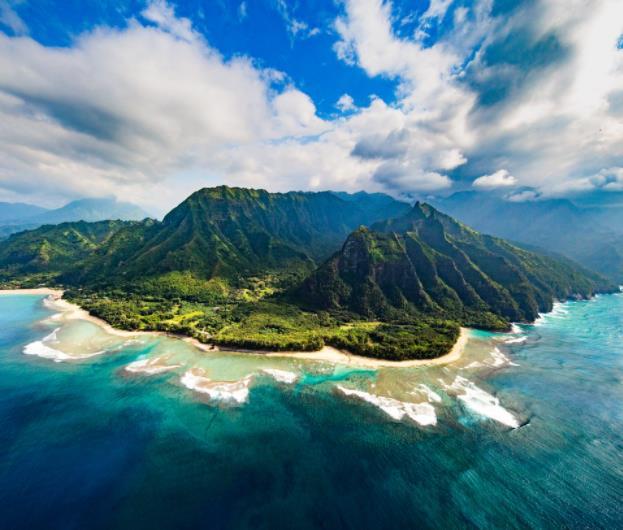 Flüge: Hawaii (bis Feb 2022) Hin- und Rückflug mit United Airlines von Amsterdam für 466€ inkl. Gepäck