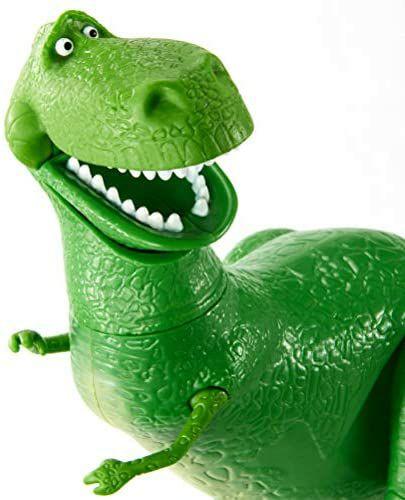 Mattel GGX35 - Toy Story 4 Dinosaurier Spielzeug Rex 17 cm, bewegliche Spielzeug Actionfigur ab 3 Jahren [Amazon Prime]