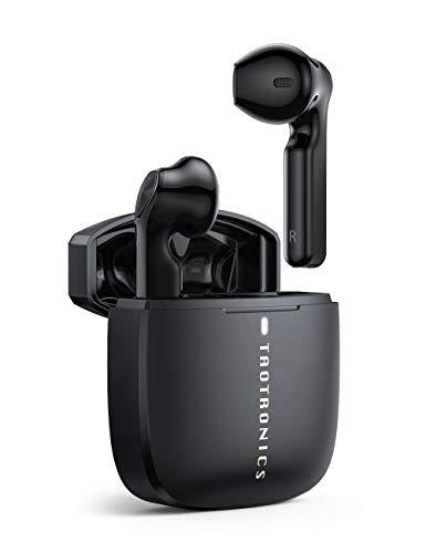 TaoTronics Bluetooth Kopfhörer (Bluetooth 5.0 IPX7 /30 Std. Spielzeit/Typ-C Schnellladen)