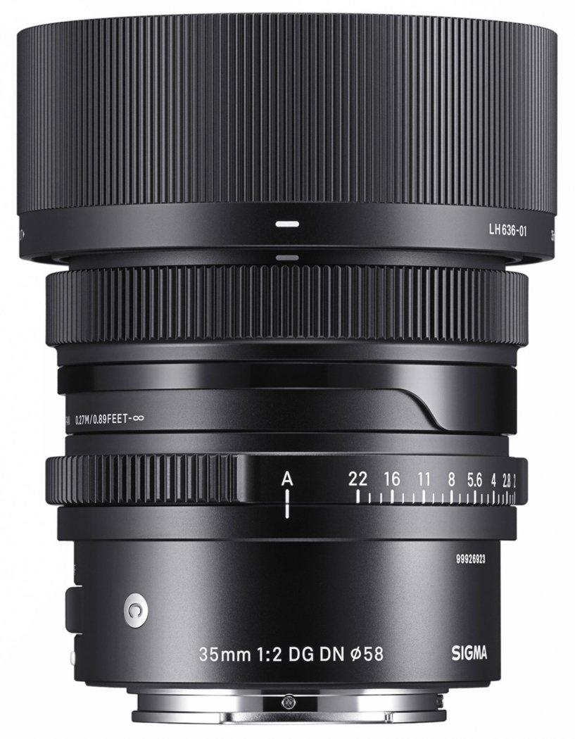 Sigma 35mm F2.0 DG DN Contemporary Objektiv für Sony E-Mount