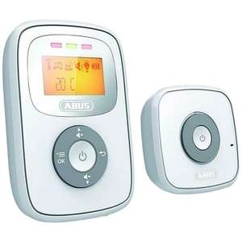 ABUS Babyphone TOM JC8230 mit Temperatur Digitales Audio Sensor Reichweite 300 m