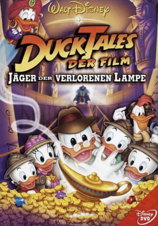 Saturn / Amazon (Prime): Ducktales - Jäger der verlorenen Lampe DVD für 6,99€