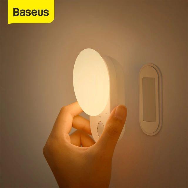 Baseus Nachtlicht Lampe (Bewegungssensor, 1200mAh, USB-C) [Aliexpress]