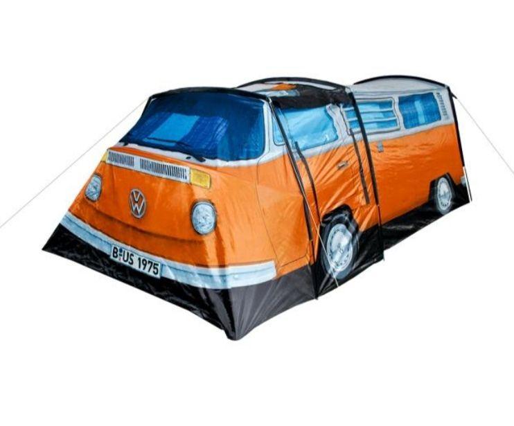 Zelt 'Volkswagen Bulli' für 3 Personen, 380 x 200 x 145 cm, VW, Camping, Festival
