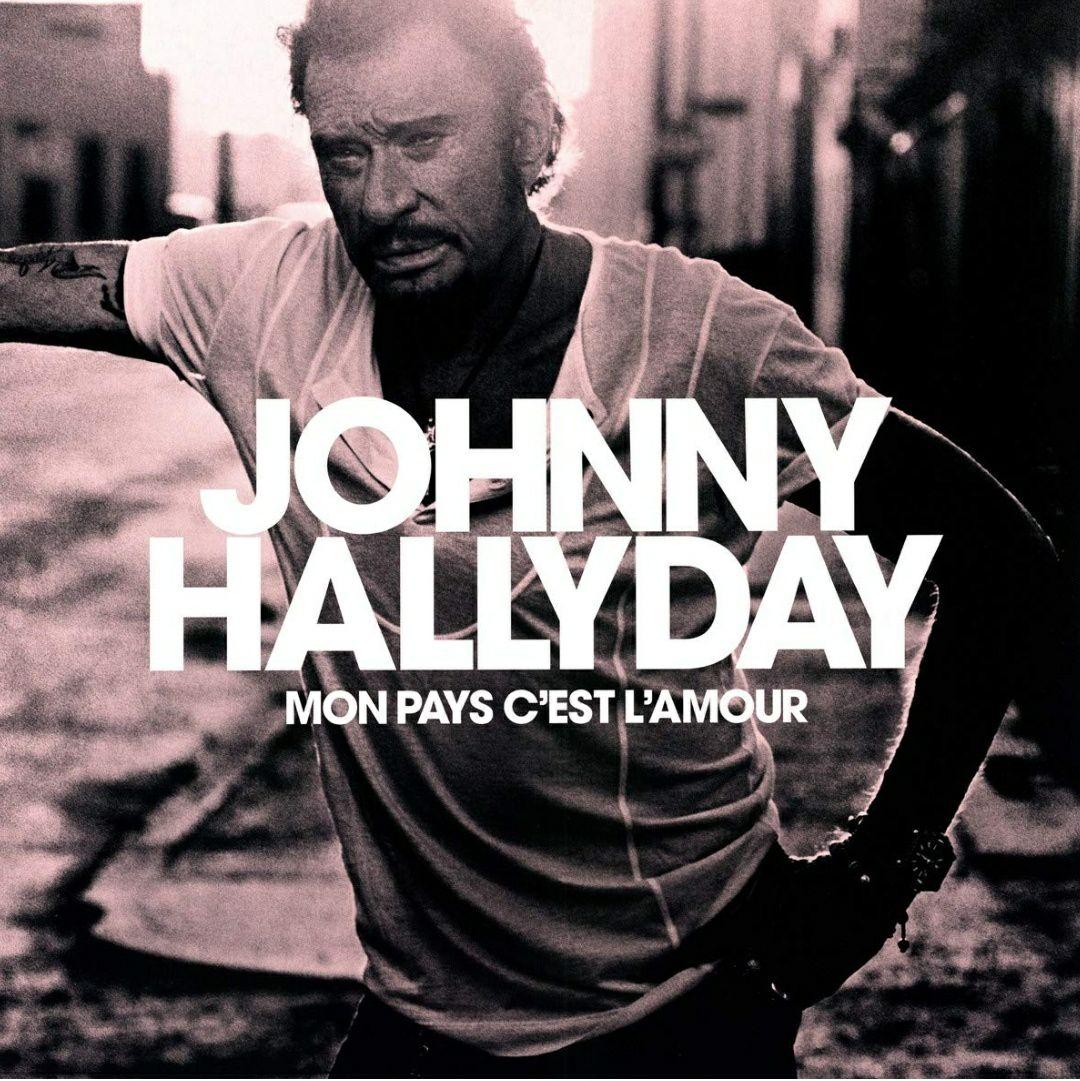 Johnny Hallyday - Mon Pays C'Est L'Amour (Farbige Vinyl LP)