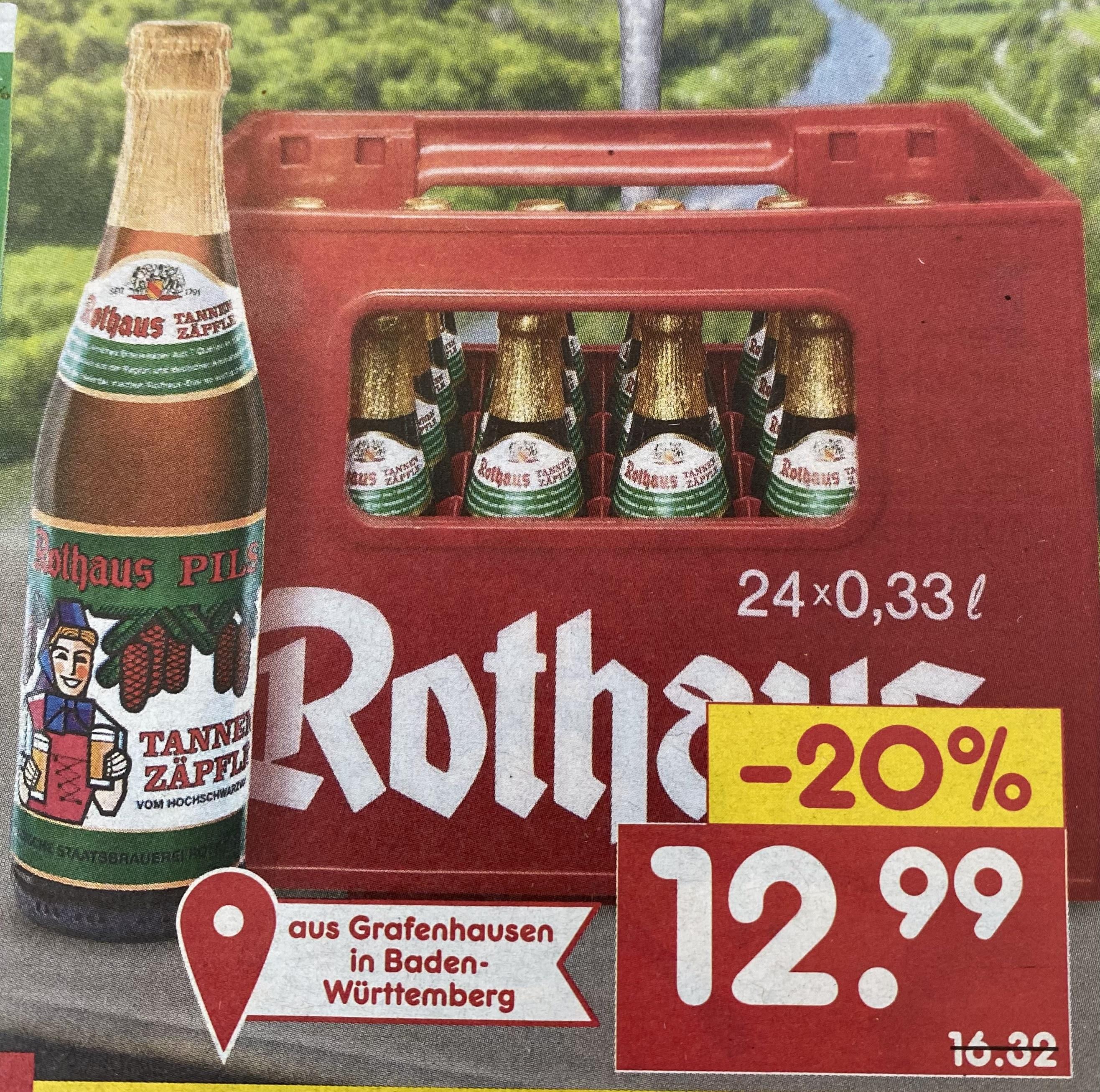 lokal - [Netto] Rothaus Zäpfle