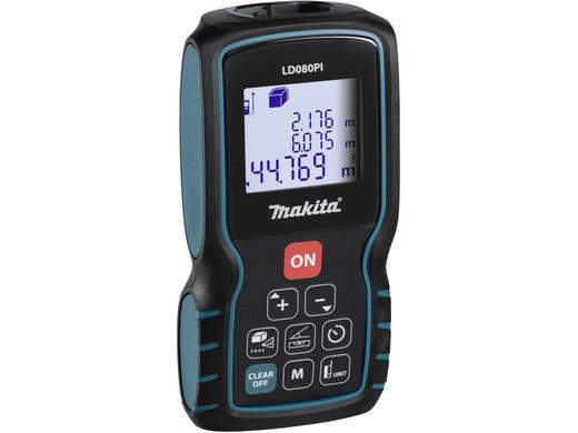 Makita Laser-Entfernungsmessgerät LD080PI (Bis zu 80 Meter, IP 54) [iBOOD]