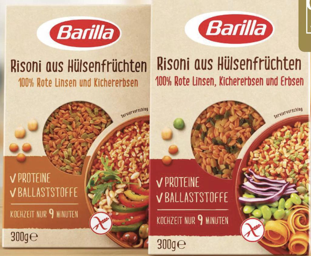 1€ Rabatt auf Barilla Risoni aus Hülsenfrüchten