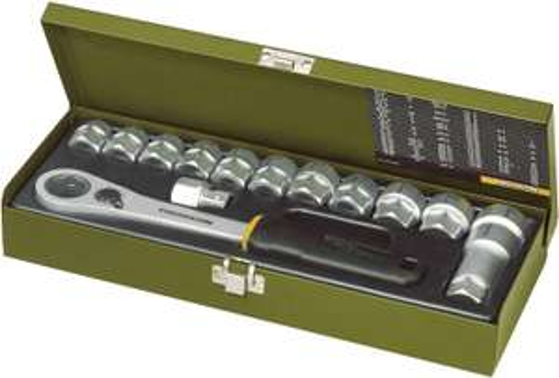 """Proxxon Industrial Steckschlüsselsatz metrisch 1/2"""" 14teilig 23604 für 40,56€ [Digitalo]"""
