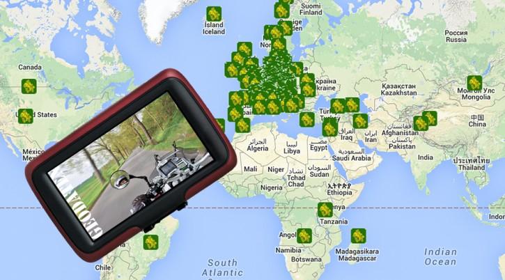 Motorrad: TOURENFAHRER Tour-Datenbank Jahres-Flatrate