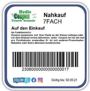 [Payback] Nahkauf 7Fach Coupons