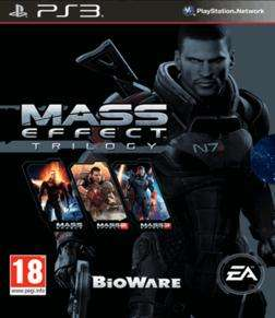 Mass Effect Trilogy PS3 PEGI