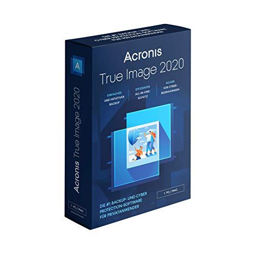 Acronis True Image 2020   1 PC/Mac - Box - unbegrenzte Laufzeit - Prime